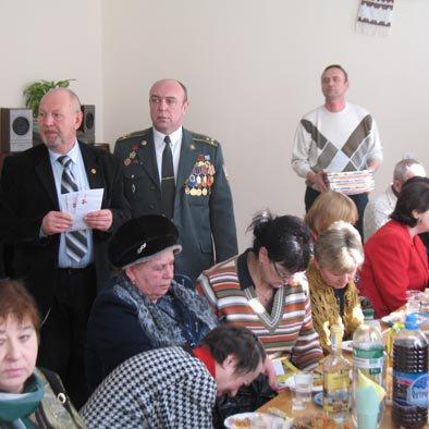 Активісти Рівненської Батьківщини  вшанували учасників війни в Афганістані