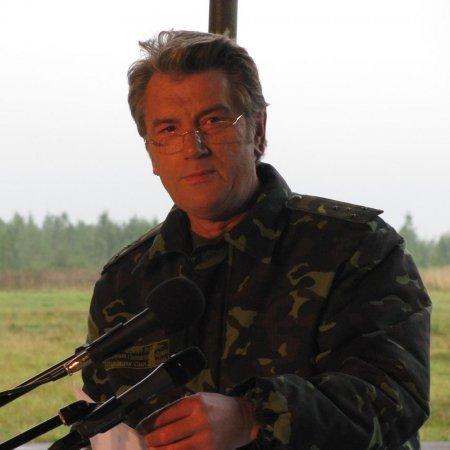 Ющенко стріляв на Рівненському полігоні