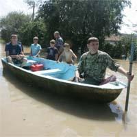 Кабмін оцінює збитки   від паводка в Західній Україні в 70 млн. гривень