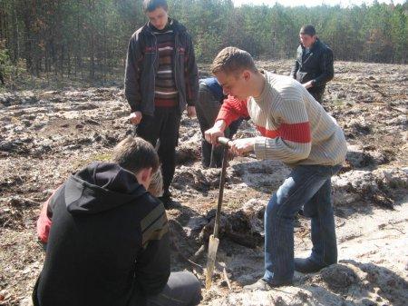 Лісокультурна кампанія студентів