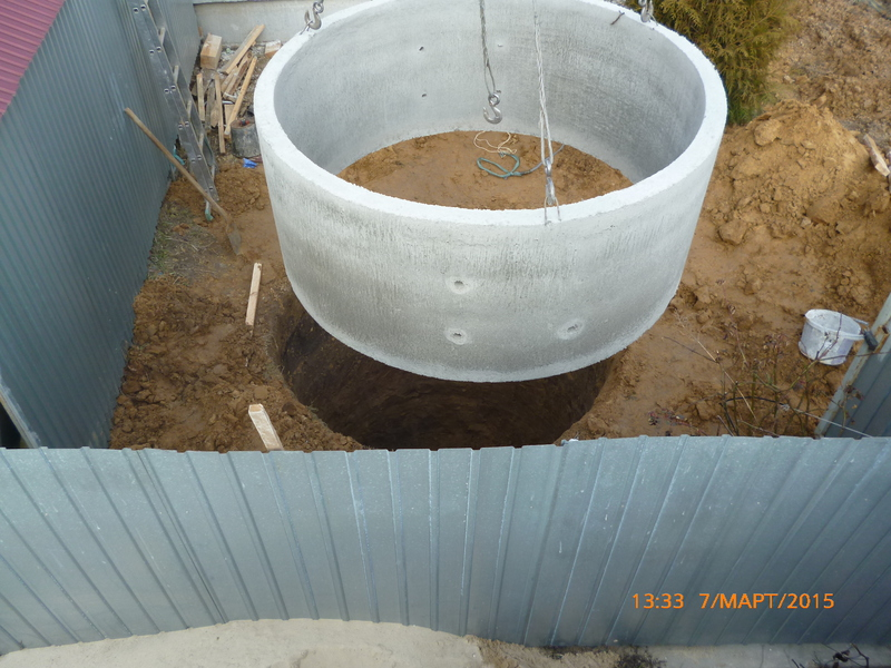канализация в частном доме киев