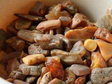 На Дубровиччині скупник бурштину поніс покарання, а 58 кг вилученого у нього каміння конфіскували в дохід держави