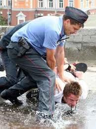 Напад на працівника міліції