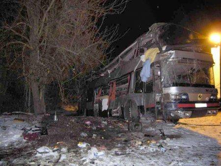 На Житомирщині перекинувся автобус: троє людей загинуло, десятеро травмовані [ФОТО]