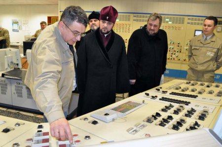 Архієпископ Рівненський та Острозький відвідав Рівненську АЕС