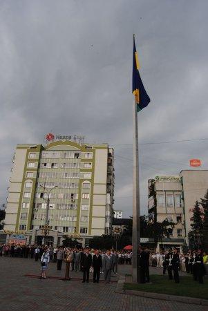 Святкування Дня Державного Прапора України у Рівному