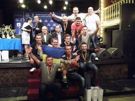 Волинські правоохоронці-футболісти привезли з Литви золото