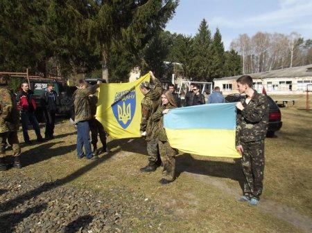 На Рівненщині відбулись навчання «Самооборони Майдану»
