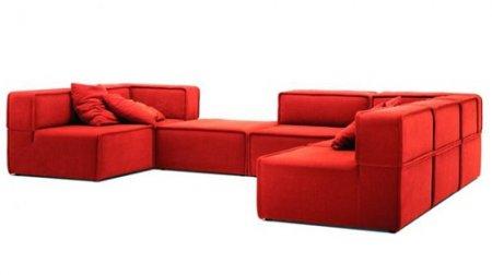 Какую мягкую мебель любит стиль хай-тек?