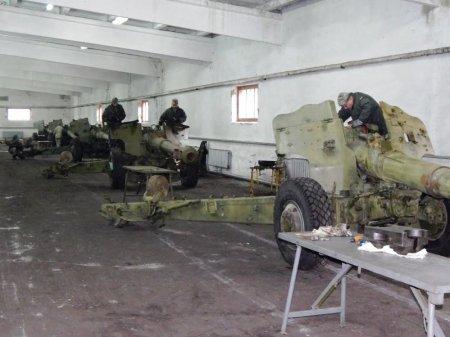 Рівненські ремонтники відновили артилерійське  озброєння в зоні АТО