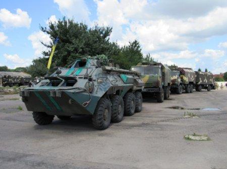 Рівненські військові тренуються забезпечувати зв'язок у короткий термін на будь-якій місцевості