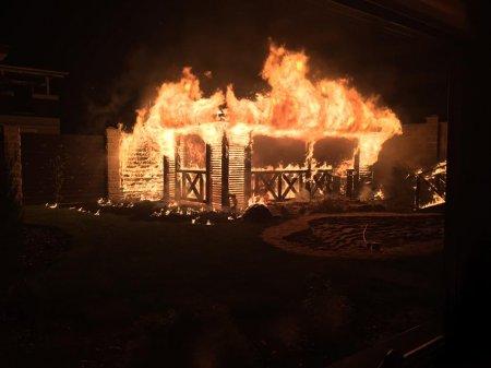 Вночі у Рівному спалили майно нардепа