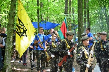 На Рівненщині стартували військово-патріотичні змагання серед школярів