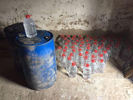 На Рівненщині знову виявлено  фальсифікований алкоголь