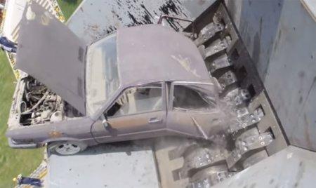 Як утилізують автомобілі в Європі