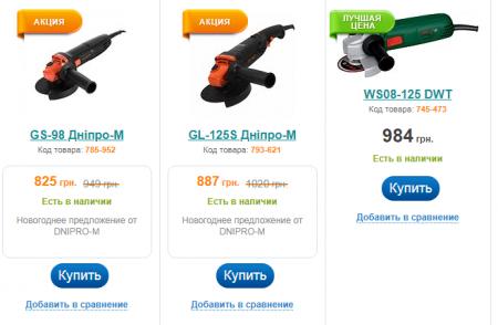 Купить болгарку по выгодной цене
