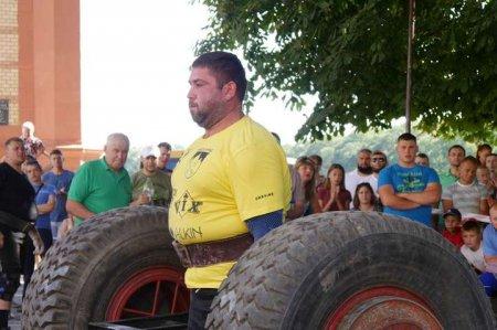 Українець виборов срібло на Центральноєвропейському кубку стронгменів
