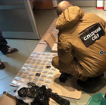 СБУ блокувала контрабанду псевдоефедрину в Україну