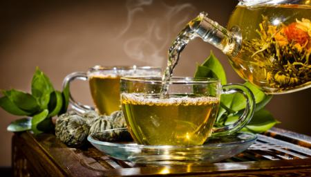 Зеленый листовой чай в интернет - магазине Кофеман