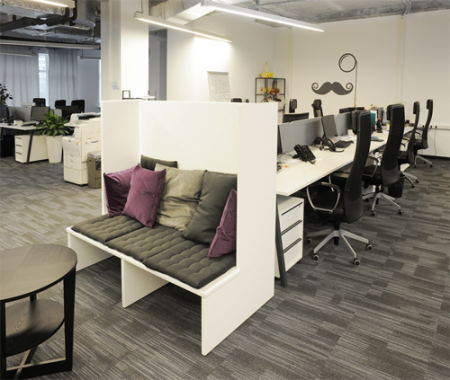 Мягкая мебель, как важная составляющая офиса