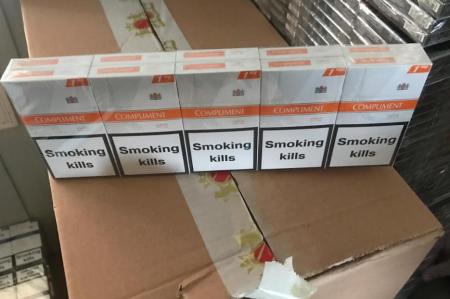 У Рівному з незаконного обігу вилучено партію тютюнових виробів, вартістю майже 600 тисяч гривень