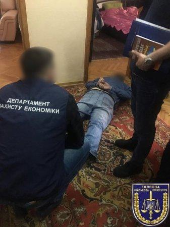 Начальника управління ДАБІ на Рівненщині затримано за хабар 400 тисяч гривень