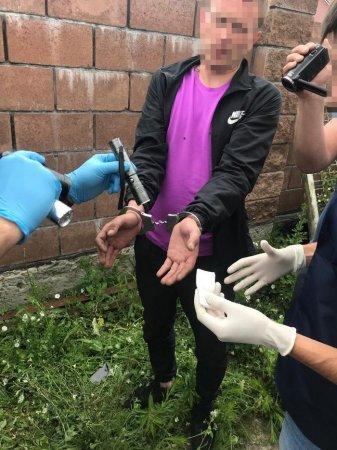 У Луцьку СБУ викрила поліцейського на збуті амфетаміну