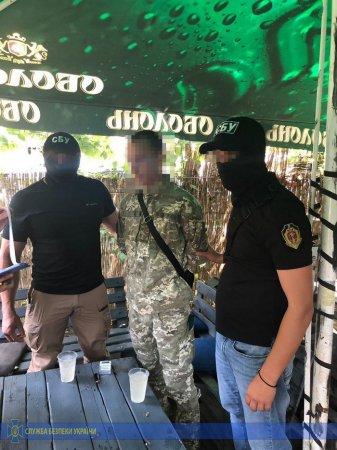СБУ викрила на хабарі керівника структурного підрозділу Чопського прикордонного загону