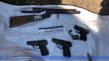 На Закарпатті СБУ викрила незаконний збут вогнепальної зброї та боєприпасів