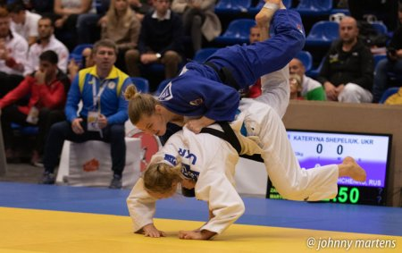 Катерина Шепелюк стала чемпіонкою Європи з дзюдо