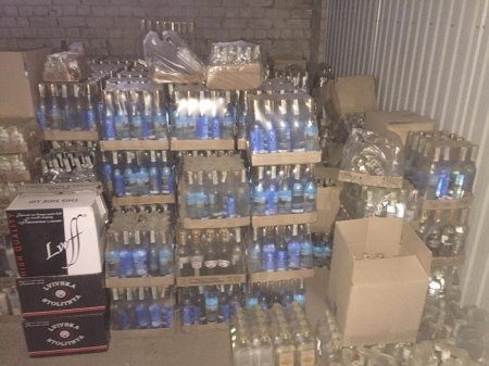 У Рівненській області ліквідовано незаконний склад підакцизної продукції. Вилучено товарів вартістю понад 1,8 млн. грн.