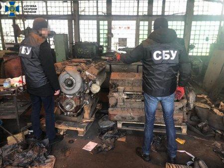 У Львівській області контррозвідка СБУ блокувала нелегальний транзит через Україну комплектуючих до броньованої техніки
